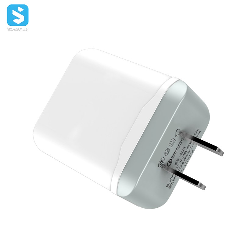 18W QC 3.0 USB fast charger