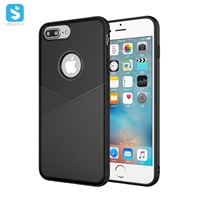 TPU leather case for iPhone 7 8 Plus