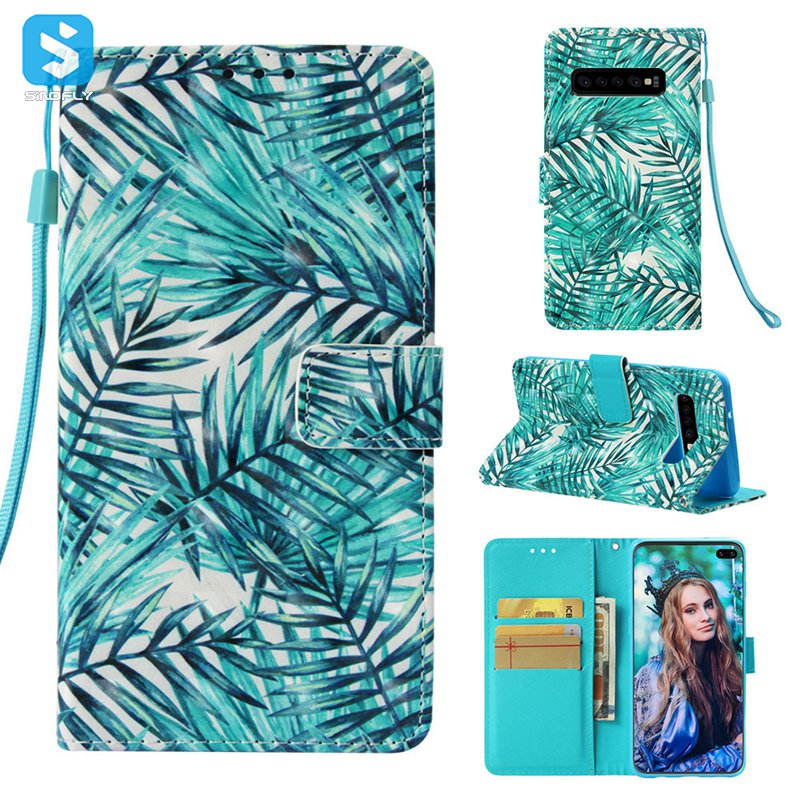 color printing stand case for Samsung Galaxy S10 Plus