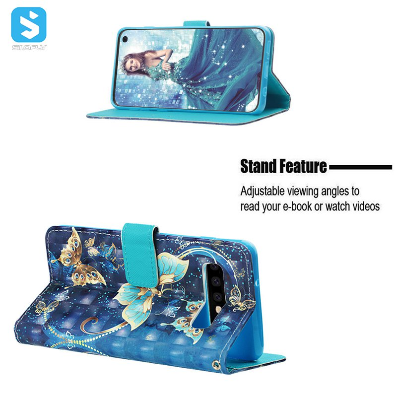 color printing stand case for Samsung Galaxy S10