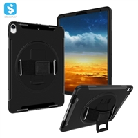 kickstand case with hand strap for ipad pro 11 2018