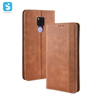 Retro style PU leather case for Huawei Mate 20