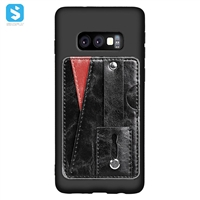 Ultra thin case with car slot for Samsung Galaxy S10 Lite