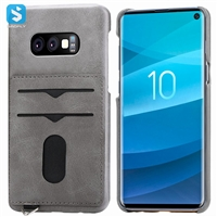 Leather back cover for Samsung Galaxy S10 Lite