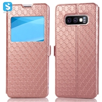 Window style phone case for Samsung Galaxy S10 Lite