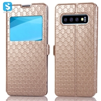 Window style phone case for Samsung Galaxy S10