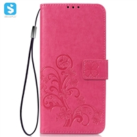 PU leather emboss phone case for Samsung Galaxy S10