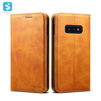 PU leather case for Samsung Galaxy S10 Lite