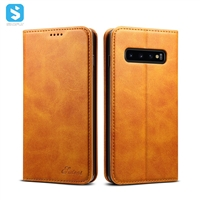 PU leather case for Samsung Galaxy S10