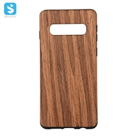 TPU wooden skin full cover for SAMSUNG  Galaxy S10 Plus