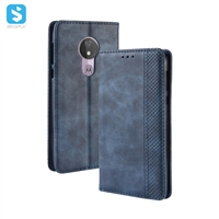 Retro PU leather case for Motorola G7 Power