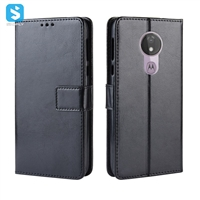 Crazy Horse PU leather case for Motorola G7 Power