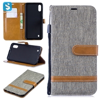 TPU cloth leather case for SAMSUNG  Galaxy M10