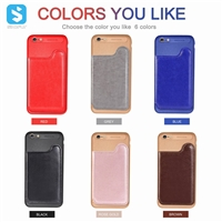 TPU PU leather case for iphone 6(S)plus