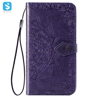 PU leather case for LG Q9