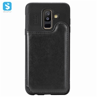 TPU PU leather case for SAMSUNG  Galaxy A6 Plus/A605F(2018)