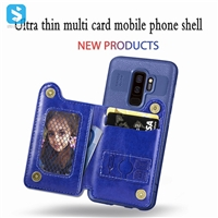 TPU PU leather case for Samsung Galaxy S9