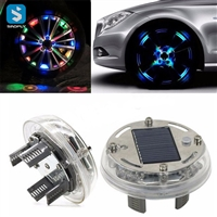 car solar colorful led light