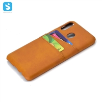 PU leather back cover for Samsung Galaxy M20