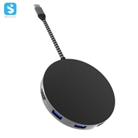 wireless charger + Hub 10W wireless charger