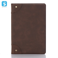 Retro grain book cover case for Huawei MediaPad M5 10.1 (Youth Version)