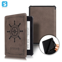 emboss PU leather case for Amazon Kindle Paperwhite K10 2018