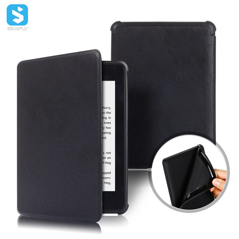 PU leather TPU back cover for Amazon Kindle Paperwhite (K10,2018)