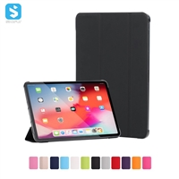 3 fold Flip leather case for iPad Pro 11 2018