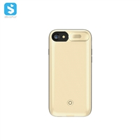Jacket battery phone case with carmera protector for iphone 7 8