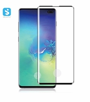 3D Edge glue tempered glass screen protector for Samsung S10