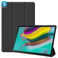 3 fold leather case for Samsung Galaxy Tab S5E