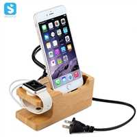 Wooden stand for iphone, for watch