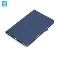 2 fold litchi grain case for Samsung Galaxy Tab S5e/T720