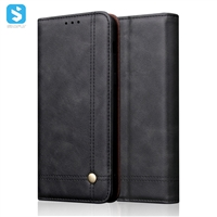 Crazy horse pu leather case for One Plus 7