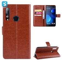 Crazy Horse PU leather case for HTC Desire 19+(Desire 19 Plus)