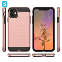 TPU PC phone case for iPhone XR 2(2019) 6.1