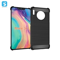 Carbon fiber shockproof phone case for Huawei Mate 30