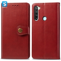 Business leather case for Mi Redmi Note 8