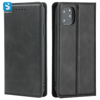 Magnetic folio pu leather case for iPhone 11 Pro Max (2019) 6.5