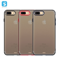 TPU PC matte clear case for iPhone 7 8Plus