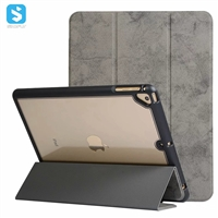 3 fold leather case with pen slot for iPad 9.7 /air/air 2/pro 9.7