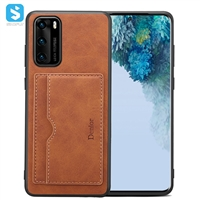 stand leather case for Huawei P40