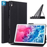 thin carbon fiber leather case for Huawei MatePad 10.8 2020 SCMR-W09