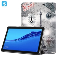 colorful printed leather case for HUAWEI  Mediapad M5 Lite 10.0