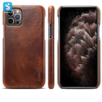 cowhide leather back cover for APPLE  iPhone 12 /12 Pro (2020) 6.1""