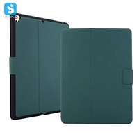 Ultra thin Silicone TPU pen slot leather case for APPLE  iPad 9.7 2017/2018