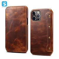 Genuine Leather case for APPLE  iPhone 12 /12 Pro (2020) 6.1