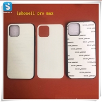 TPU 2D glass sublimation phone case for APPLE  iPhone 11 Pro MAX(2019) 6.5
