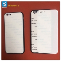 TPU 2D glass sublimation phone case for APPLE  iPhone 6(S)