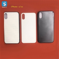 TPU 2D glass sublimation phone case for APPLE iPhone X(S)
